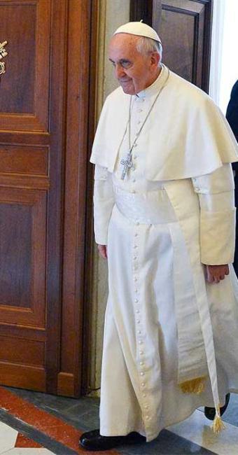Papa vê como desafio ao homem se abrir para vida espiritual - Foto: Agência Reuters