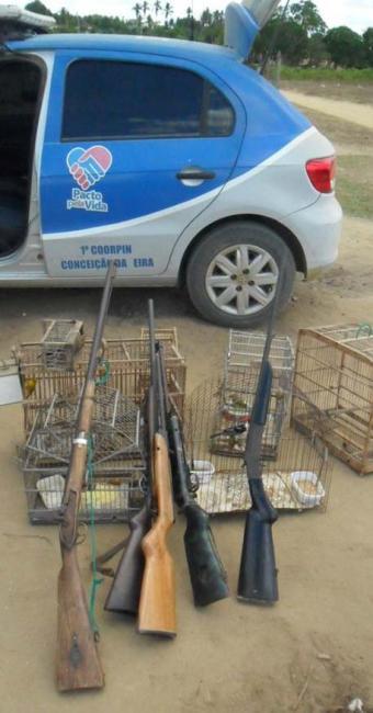 Todo o material apreendido foi confiscado pela Polícia Civil de Feira de Santana - Foto: Telma Lobão | Divulgação