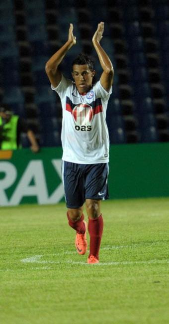 Após arrancada em contra-ataque, Magal marca golaço e ajuda o Bahia a avançar na Copa do Brasil - Foto: Biaman Prado   Ag. BAPRESS