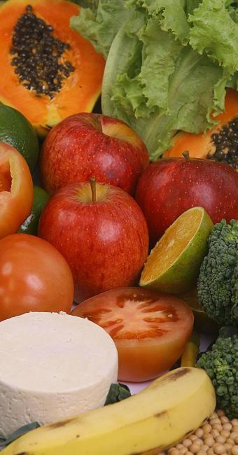 Alimentos saudáveis ajudam o cérebro - Foto: Divulgação