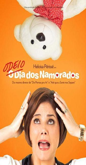 Heloísa Perissé no cartaz do filme - Foto: Diuvulgação