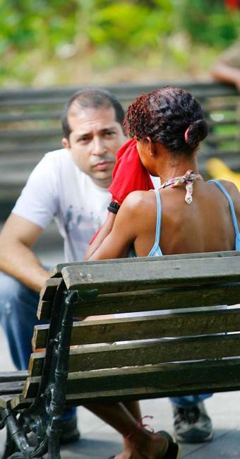 De oito pessoas, só uma mulher, grávida, aceitou ser encaminhada - Foto: Marco Aurélio Martins | Ag. A TARDE