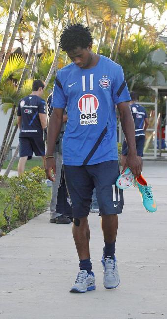 Jogador não marcou desde o retorno ao Bahia - Foto: Eduardo Martins   Ag. A TARDE