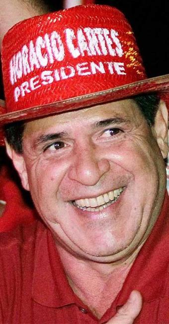Cartes é um dos maiores contribuintes no Paraguai - Foto: Agência Reuters