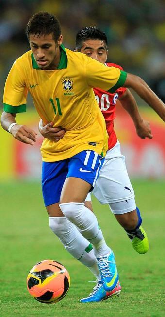 Neymar foi muito vaiado pela torcida que foi ao Mineirão - Foto: Antônio Lacerda | EFE