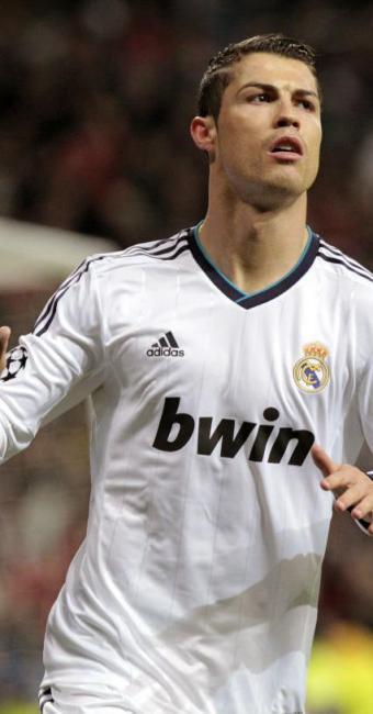 Cristiano Ronaldo sofreu uma contusão na coxa durante um o jogo - Foto: Alberto Martín   EFE