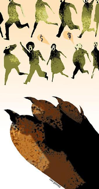 Cau Gomez - Ilustração - Imposto de Renda - Foto: Cau Gomez