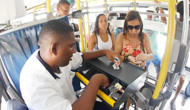 No primeiro dia, alguns passageiros e rodoviários alegaram desconhecer o projeto - Foto: Lúcio Távora | Ag. A TARDE