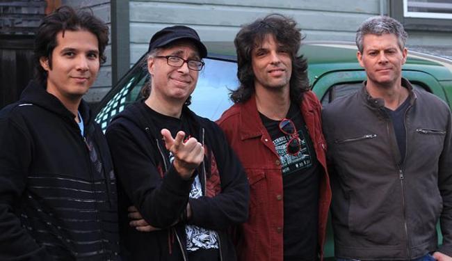 A banda reúne Amaro Lima, Jack Endino, Ricardo Mendes e Barret Martin - Foto: Fábio Seidl   Divulgação