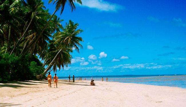 Praia de Moreré é uma das atrações de Boipeba - Foto: LK Comunicação | Divulgação