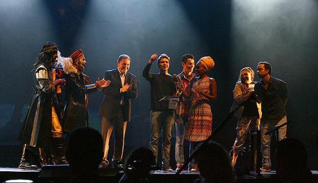 'Entre Nós' é o grande vencedor da noite e leva três prêmios - Foto: Fernando Amorim | Ag. A TARDE
