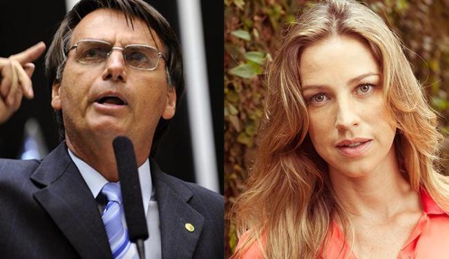 Jair Bolsonaro compartilhou nota chamando Luana Piovani de