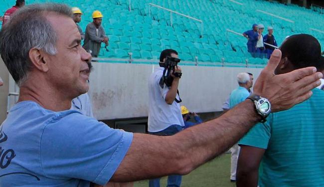 Jorginho anunciou sua saída do tricolor - Foto: Eduardo Martins | Ag. A TARDE