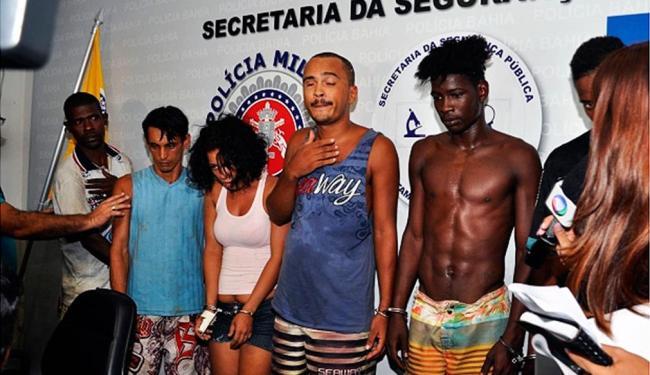 Suspeitos foram apresentados na sede da SSP - Foto: Divulgação | SSP