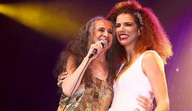 Maria Bethânea cantou três músicas com Vanessa da Mata - Foto: Jaqueline Machado / Divulgação