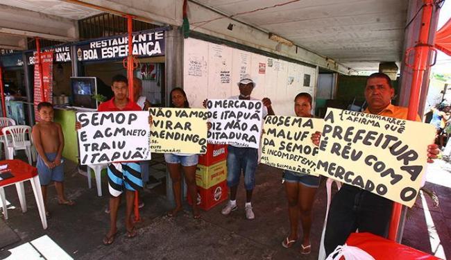 Protesto deste sábado foi pacífico, mas manifestantes prometem continuar lutando - Foto: Fernando Amorim | Ag. A TARDE
