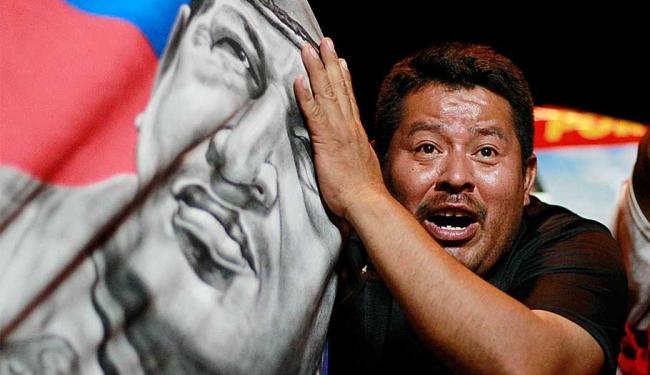 Apoiador celebra vitória de Maduro à presidência da Venezuela - Foto: Agência Reuters