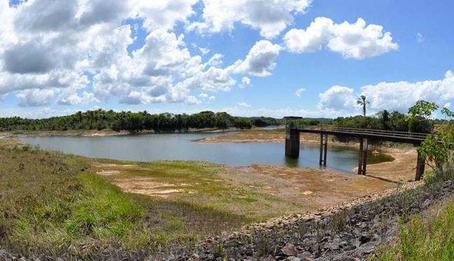 Barragem da Tapera está com 16% da capacidade de armazenamento de água - Foto: Divulgação