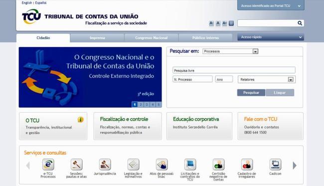 Portal permite ao cidadão acompanhar como é gasto o dinheiro dos seus impostos - Foto: Reprodução