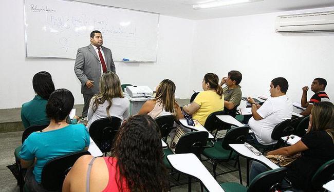 Candidatos já se preparam, mesmo sem data prevista para o concurso da polícia - Foto: Luciano da Matta | Ag. A TARDE