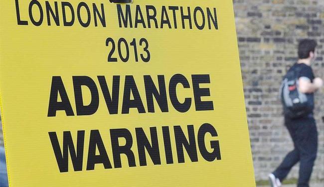 Capital inglesa resolve manter a maratona, mesmo após atentado de Boston - Foto: Agência Reuters