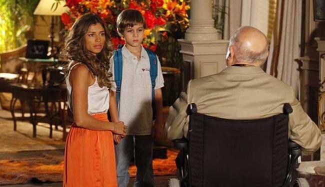 Dionísio diz para Samuca que Cassiano o abandonou - Foto: Reprodução | TV Globo