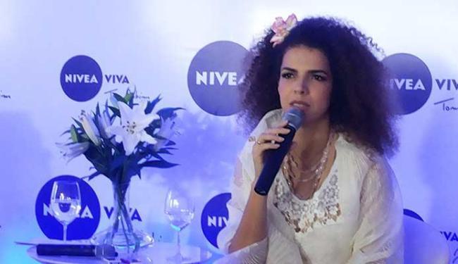 Cantora aceitou o convite prontamente, confiante que faria um ótimo trabalho - Foto: Bruno Porciuncul   Ag. A TARDE