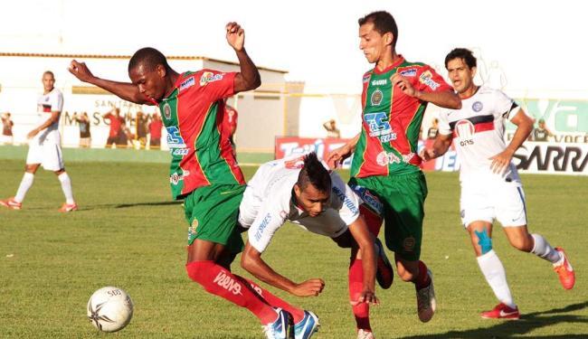 Empate fez Tricolor cair para segunda posição do Grupo 1 - Foto: Ivan Cruz   Agência BAPRESS