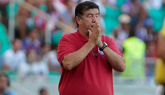 Joel Santana vai ter que trabalhar muito para tirar o Bahia dessa situação - Foto: Eduardo Martins | Ag. A TARDE