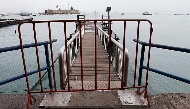 Más condições de navegação impedem oferta do serviço - Foto: Marco Aurélio Martins | Ag. A TARDE