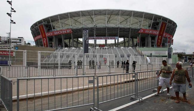 Jogos da Copa das Confederações vão ocorrer na Arena Fonte Nova - Foto: Lúcio Távora | Ag. A TARDE