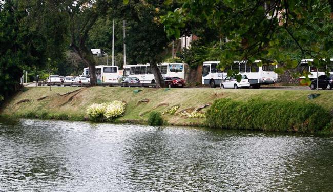 Apesar do incidente,trânsito não ficou congestionado no local - Foto: Arestides Baptista | Ag A TARDE