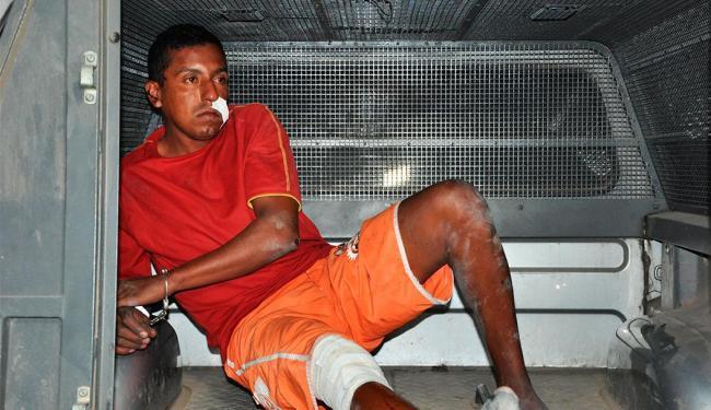 Antônio disse que uma quadrilha o obrigou a roubar o táxi - Foto: Hugo Santos/RADAR 64
