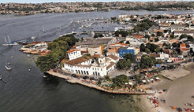 Vista aérea da peníncula - Foto: Carlos Casaes   Ag. A TARDE