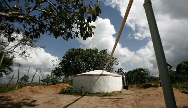 Do início do governo Jaques Wagner até o ano passado, a média diária foi de 46 cisternas - Foto: Luiz Tito | Ag. A TARDE