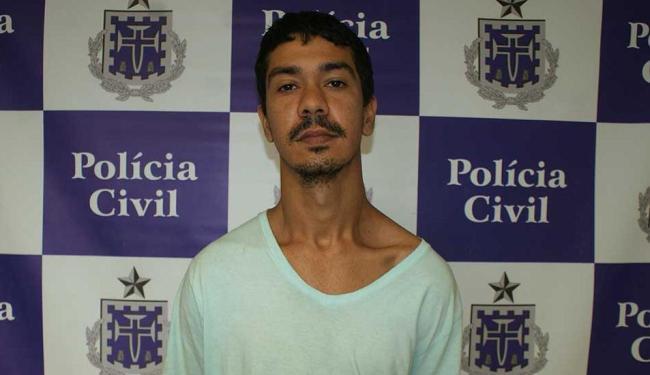 Nei da Silva Andrade foi apresentado nesta segunda-feira - Foto: Polícia Civil | Ascom
