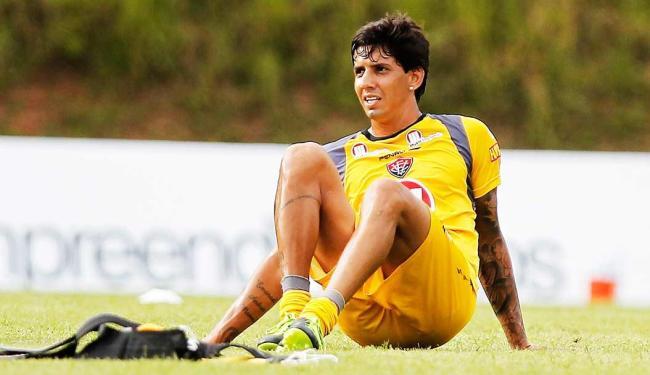 Zagueiro foi expulso no jogo contra o Botafogo-BA, no dia 13 de abril - Foto: Eduardo Martins | Ag. A Tarde
