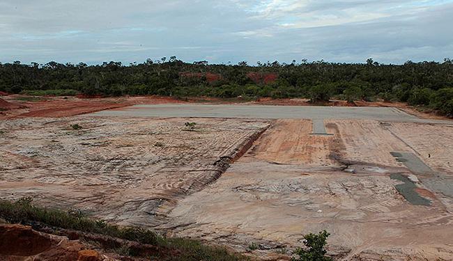 Terreno que deve abrigar a fábrica da JAC Motors em Camaçari permanece intocado - Foto: Eduardo Martins | Ag. A TARDE