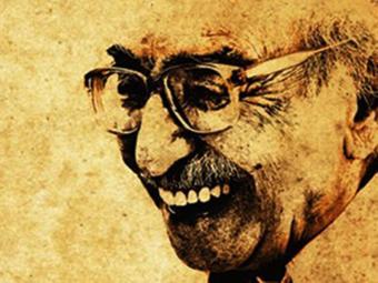 Manoel de Barros, na ilustração do cartaz do filme - Foto: Reprodução | Ag. A TARDE