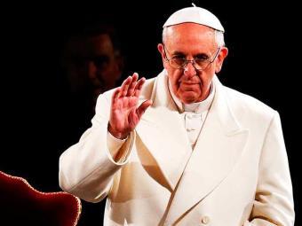 Francisco irá, dia 24 de julho, ao Santuário de Nossa Senhora Aparecida - Foto: Agência Reuters