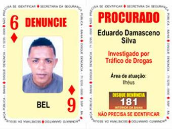 Bel era procurado por envolvimento com o tráfico de drogas em Ilhéus - Foto: Divulgação | Polícia Civil
