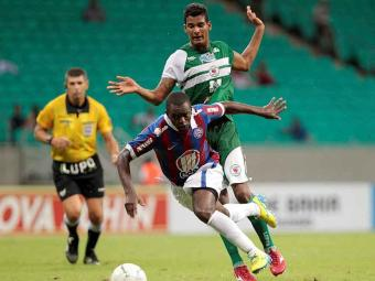 Marcelo de Lima Henrique também apitou Bahia x Juazeirense, primeiro jogo da semifinal do Baianão - Foto: Eduardo Martins | Ag. A TARDE