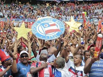 Diretoria tricolor faz promoção para tentar atrair bom público para jogo decisivo contra Luverdense - Foto: Eduardo Martins | Ag. A Tarde
