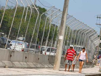 Ruas do Centro Administrativo da Bahia (CAB) já estão prontas para a Stock Car - Foto: Eduardo Martins | Ag. A TARDE