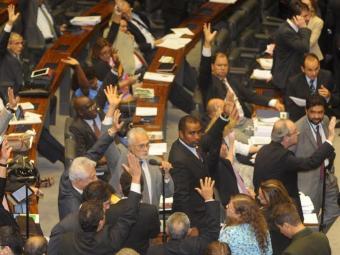 A sessão foi encerrada às 5h por falta de quórum - Foto: José Cruz | Ag. Brasil