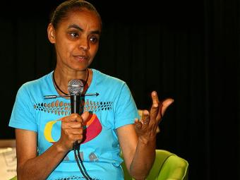 Marina, que é evangélica, já tinha dado declarações contra o casamento homoafetivo - Foto: Fernando Amorim | Ag. A TARDE
