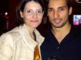 Malga chegou a dizer que tinha a bênção dos filhos de Chico, quando anunciou o romance com Felipe - Foto: Reprodução   Caras