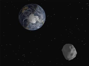 Asteroide de 2,7 quilômetros de comprimento passará a 5,8 milhões km da Terra no dia 31 de maio - Foto: Reuters