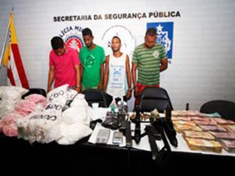Bando foi capturado durante a Operação Corcovado, na última sexta-feira, 17 - Foto: Divulgação | Polícia Civil