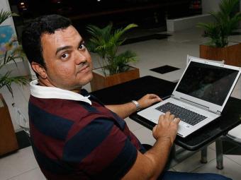 Franco conta que pesquisou na internet o apartamento da família:
